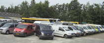 Stock site Veenstra Bedrijfsauto's