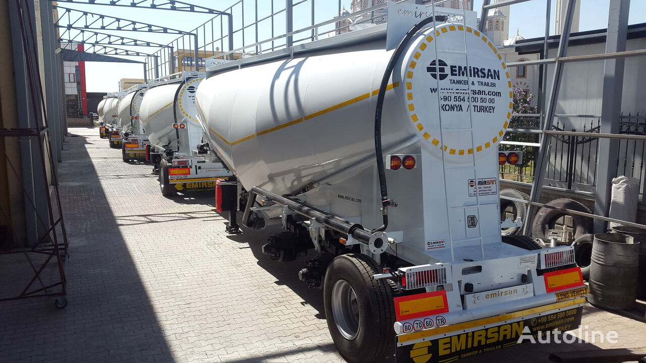 EMIRSAN Manufacturer , Direct from Factory .. cement tank trailer