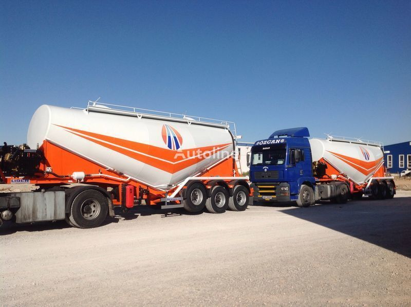 new LIDER 2017 MODEL CEMENT TANKER  cement tank trailer
