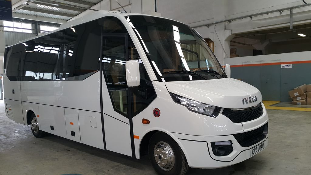 new IVECO Erduman  coach bus