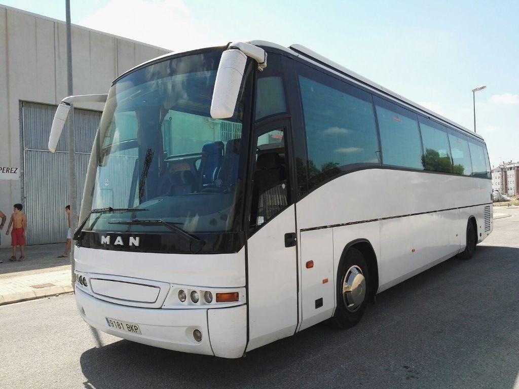 MAN 18.460 coach bus