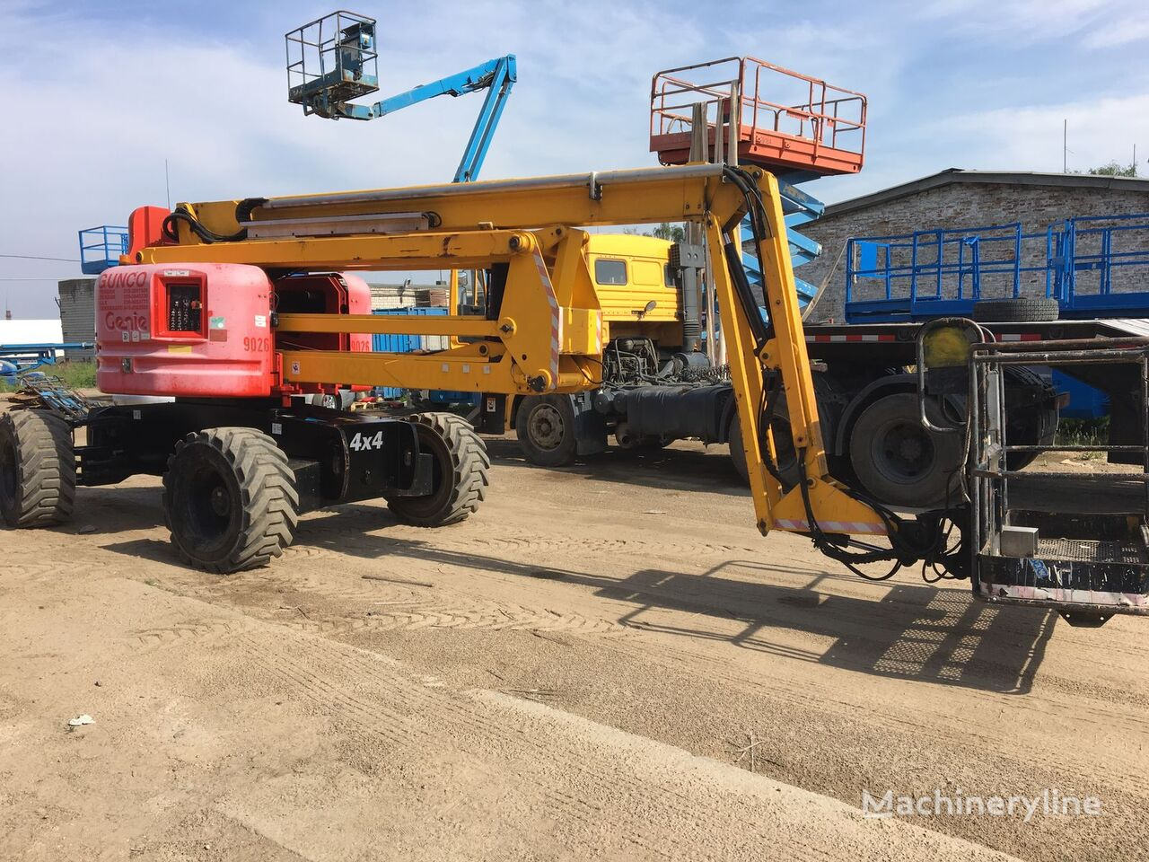 GENIE Z60/34 RT 4*4 articulated boom lift