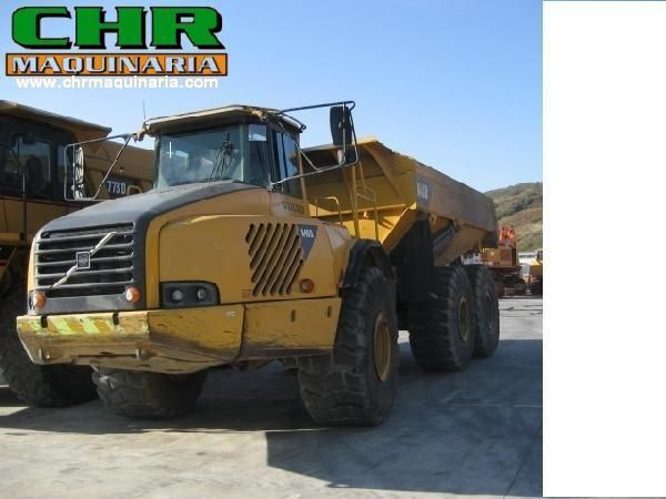VOLVO A40 & A40D articulated dump truck