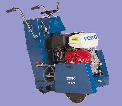 new Besto B-450 asphalt cutter