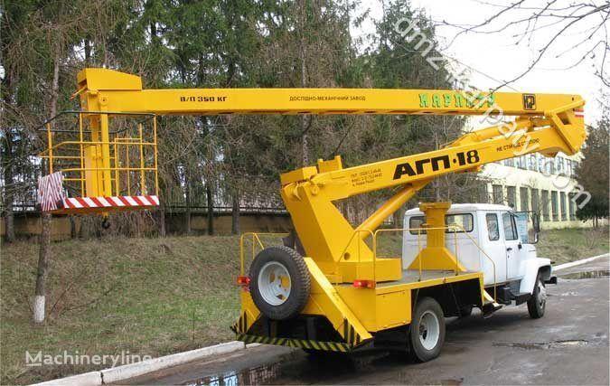GAZ Avtogidropodemnik AGP-18 (Avtovyshka) bucket truck