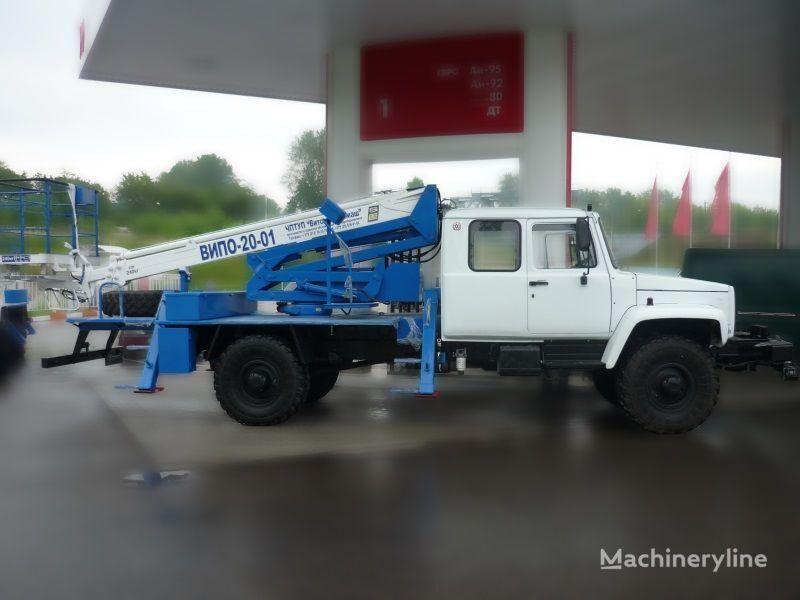 GAZ Sadko bucket truck