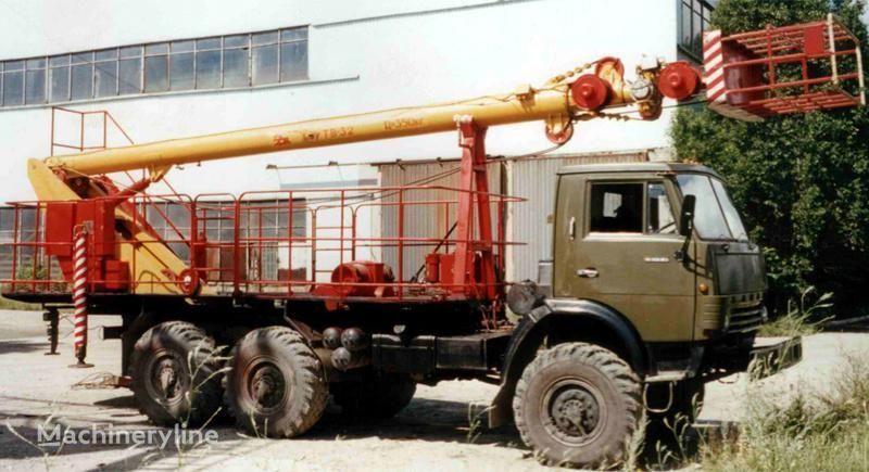 KAMAZ TV-32 bucket truck