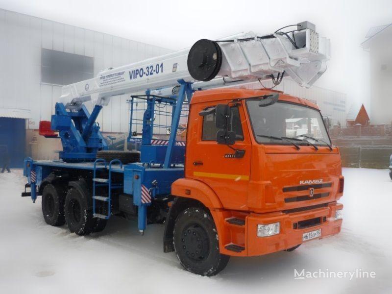 KAMAZ VIPO-32  bucket truck