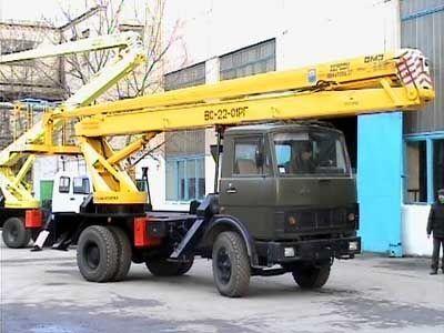 KAMAZ VS—22-01  bucket truck