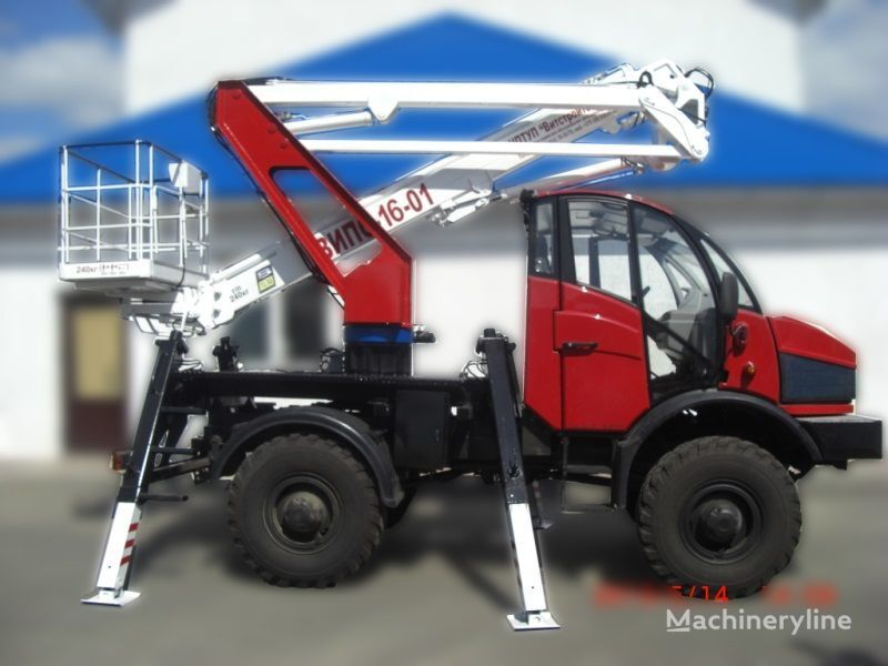 Lifting Machines AGP VIPO-16-01-02 Silant bucket truck