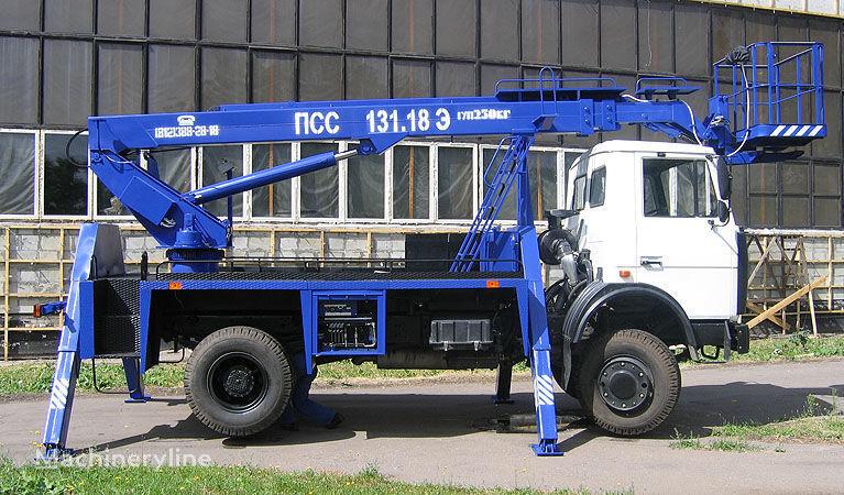 MAZ 5337A2 bucket truck