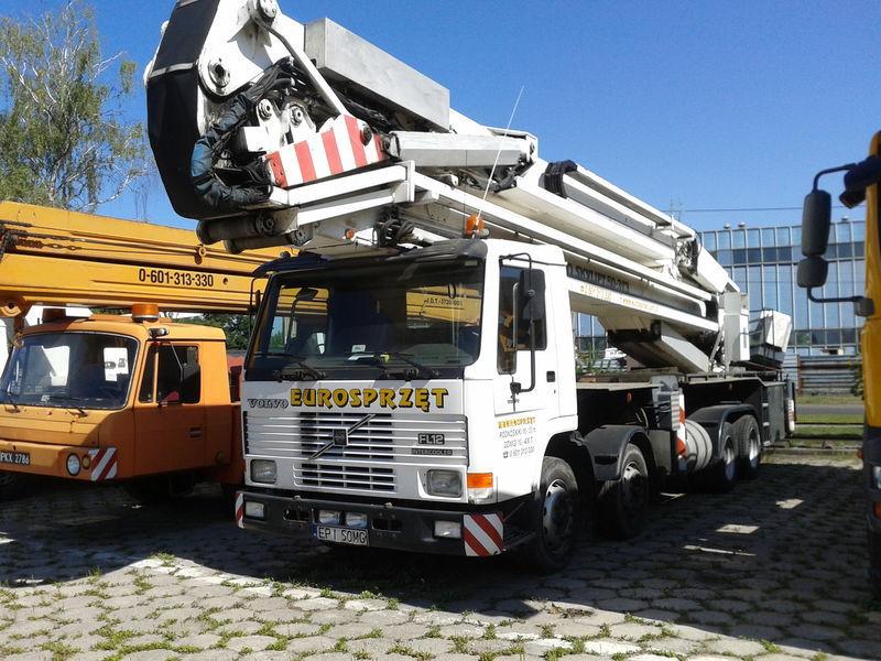 VOLVO BRONTO SKYLIFT 50-3T3 bucket truck