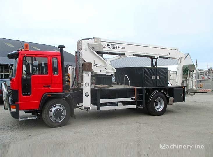VOLVO FL-614 4X2WD bucket truck