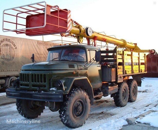 ZIL TV-26E bucket truck