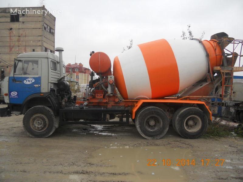KAMAZ 53229A concrete mixer truck