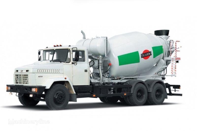 KRAZ 6233P4-TIP1  concrete mixer truck