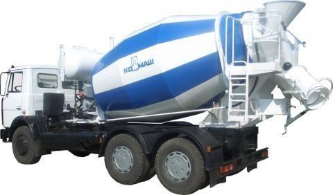 MAZ 6303  concrete mixer truck