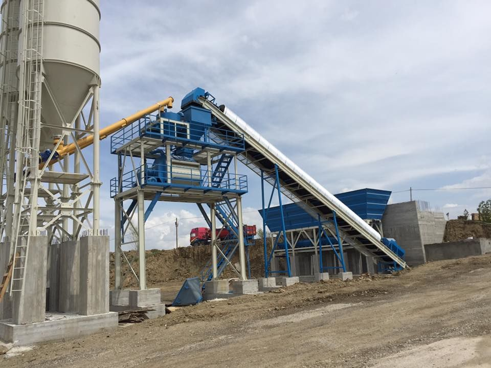 new PROMAX STAR S100-TWN مصنع خلط ثابتة concrete plant