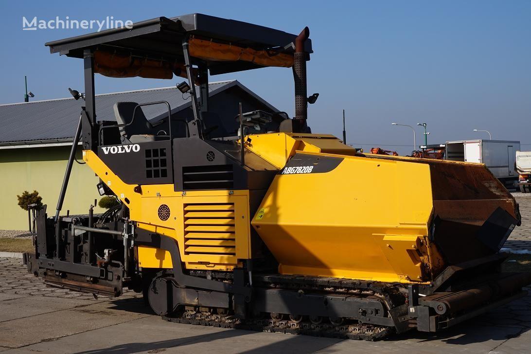 VOLVO ABG 7820 B crawler asphalt paver