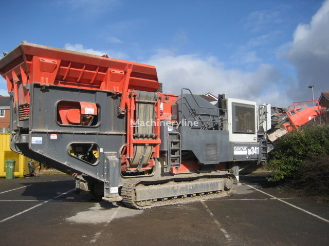 SANDVIK QJ341 crushing plant