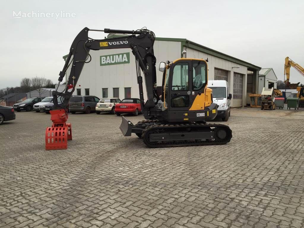 VOLVO ECR88D demolition excavator