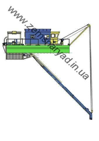 new NSS Zemsnaryad 800/40-K-GR dredge