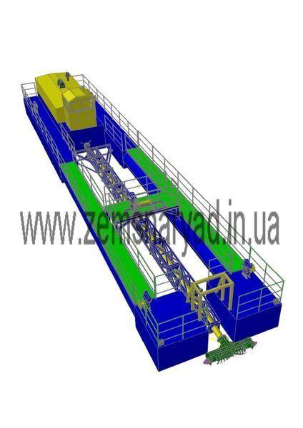new NSS Zemsnaryad NSS 400/20-F-K dredge