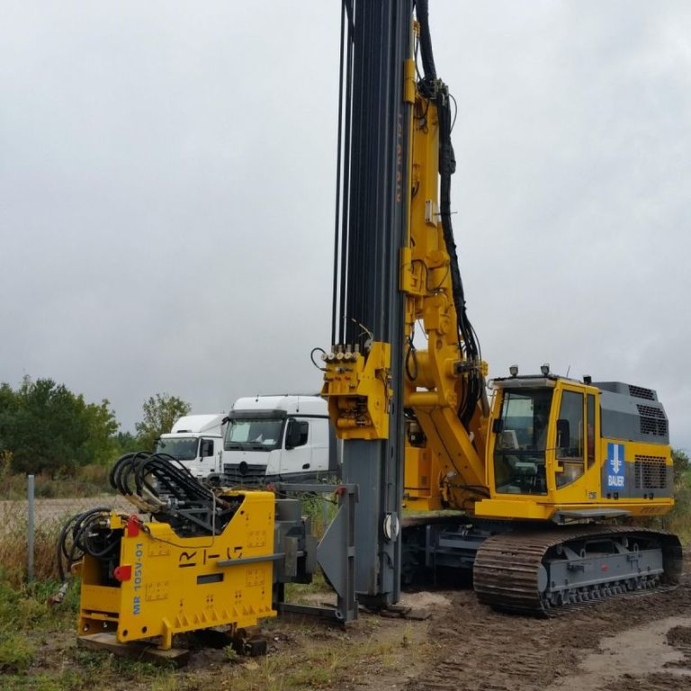 Bauer Rtg: BAUER RTG 19 Drilling Rigs For Sale, Drilling Plant From