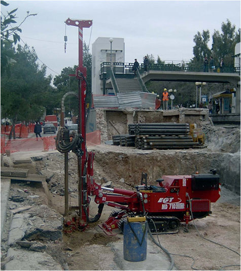 MD 700 drilling rig