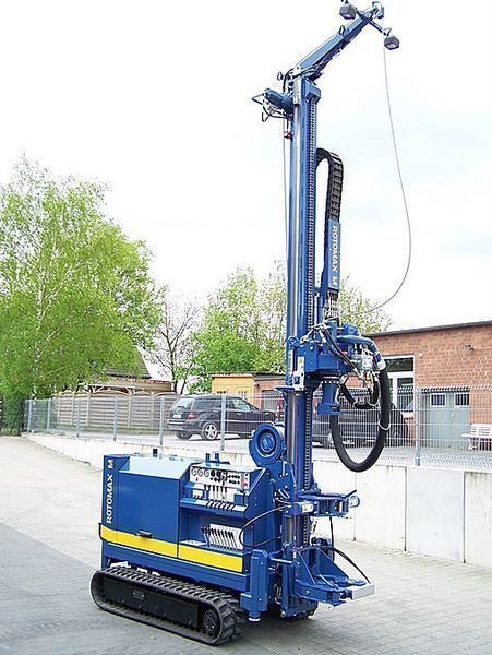 new ROTOMAX M  drilling rig
