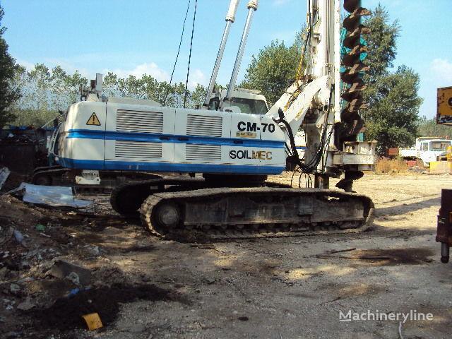 Soilmec CM 70. drilling rig