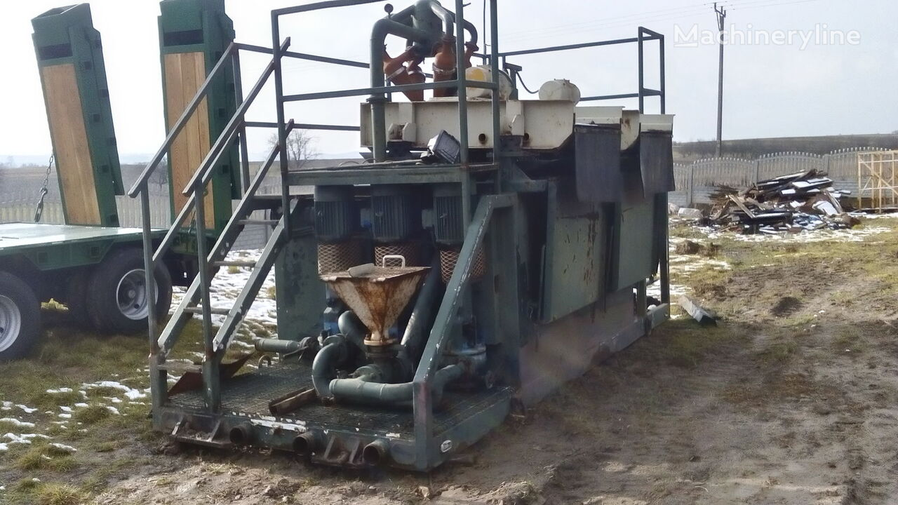 VERMEER  Mud recycling unit Basic Fabrication MCS 260 drilling rig