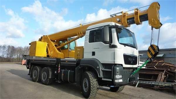 new HCT 30 mobile crane