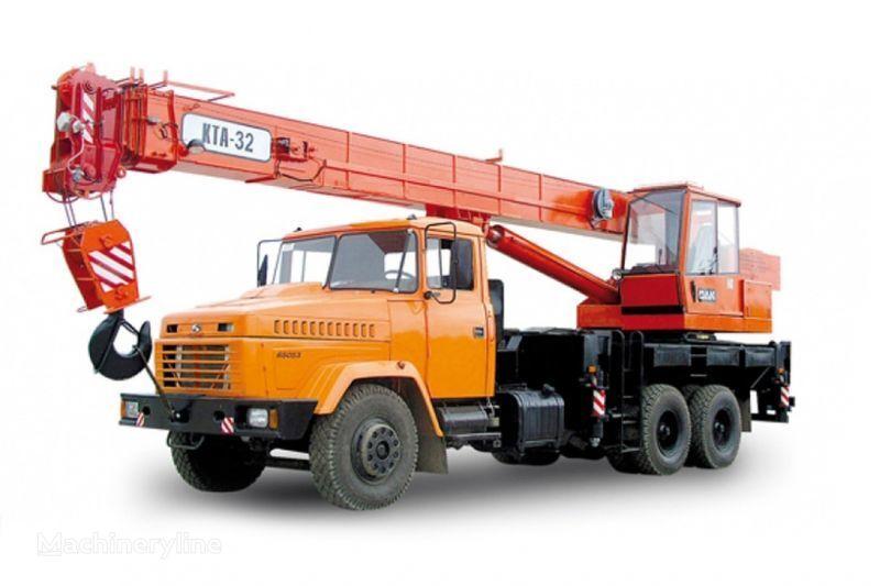 KRAZ 65053 (KTA-32)  mobile crane