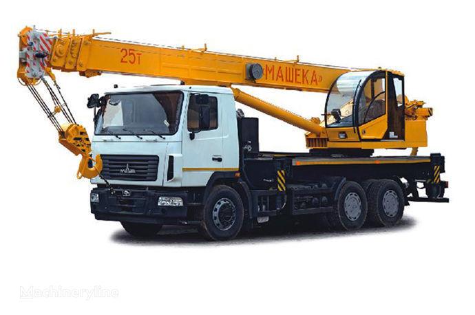 MAZ KS-55727-A, B mobile crane