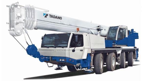 TADANO Faun ATF65G-4 mobile crane