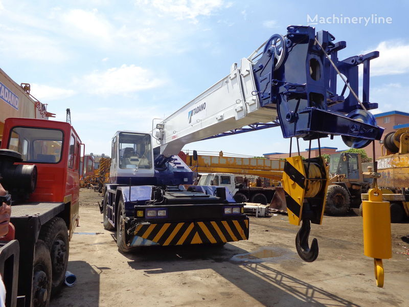 TADANO TR250M(rough terrain crane) mobile crane