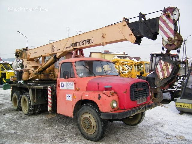 BUMAR GŁOGÓW on chassis TATRA T 148 Samojezdny mobile crane