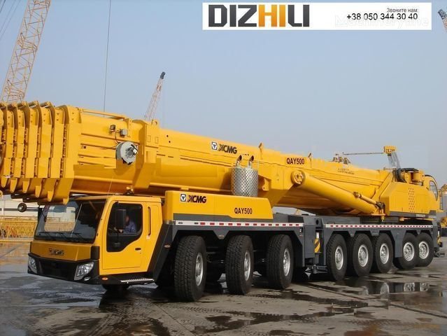 new XCMG QAY500 on chassis XCMG QAY500 mobile crane