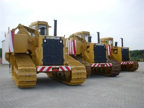 CATERPILLAR 589 pipelayer pipe layer