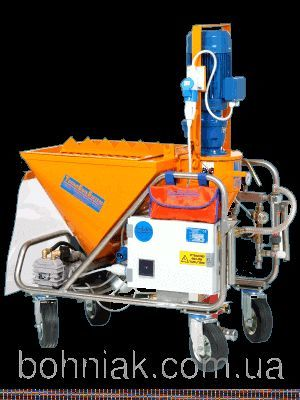 new MAC JUNIOR monofase  230v/400v plastering machine