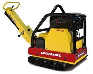 new DYNAPAC LG500 plate compactor