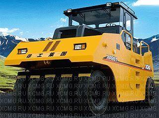 new XCMG XP262 pneumatic roller