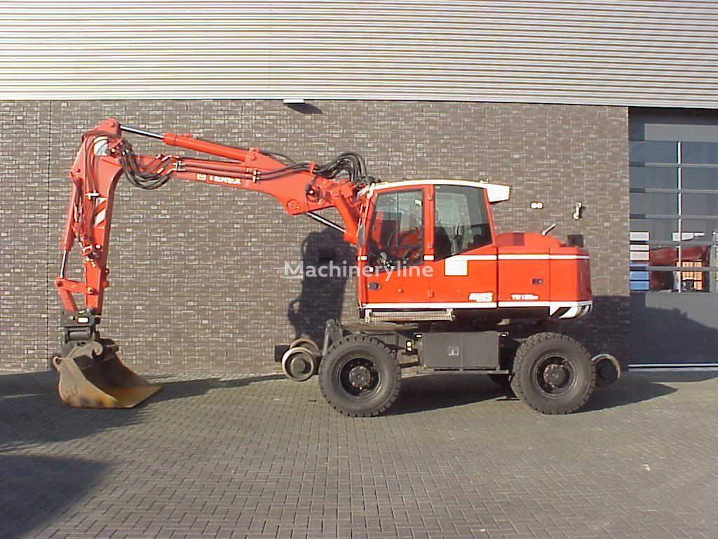 TEREX TW 160 SR RAILWAY EXAVATOR rail excavator