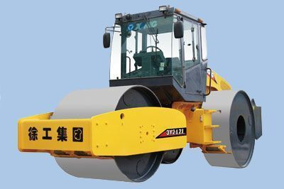 new XCMG 3Y212J road roller