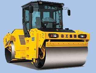 new XCMG XD122 road roller