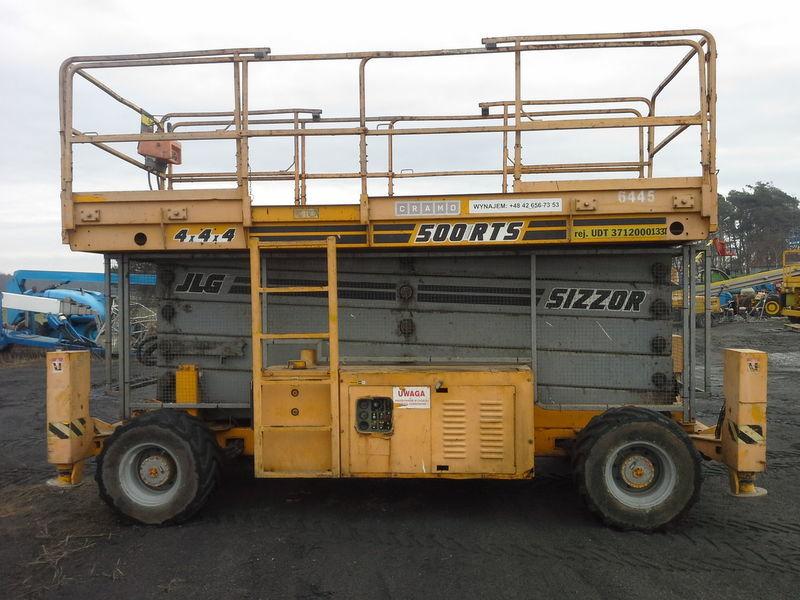 JLG 500 RTS  4*4*4 scissor lift