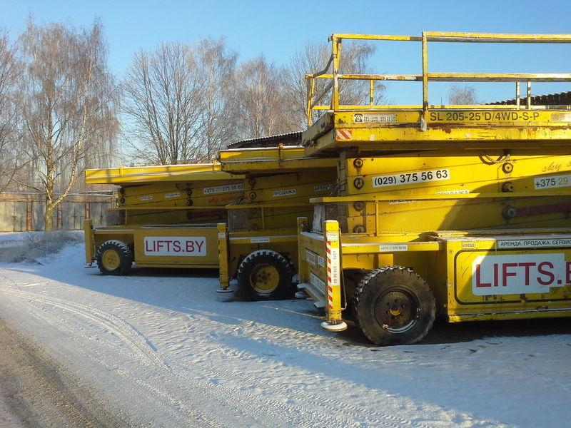Liftlux 205-25  22.5m  CENA ZA 3 sht  4*4 scissor lift