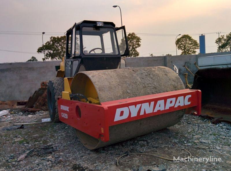 DYNAPAC CA25D single drum compactor