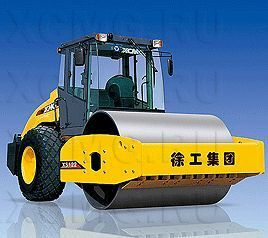 new XCMG XS122 single drum compactor